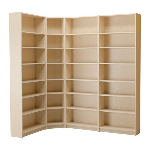 BILLY Bookcase, birch veneer - 290.233.98