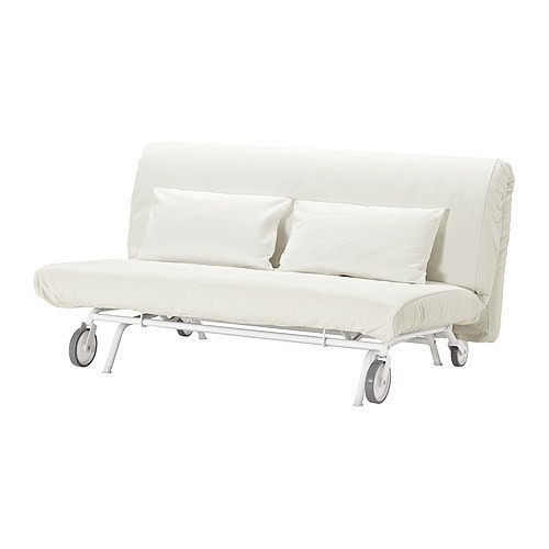 IKEA PS MURBO Sofa bed, Gräsbo white - 798.744.52