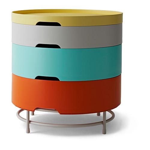 IKEA PS 2014 Storage table, multicolor - 702.639.98