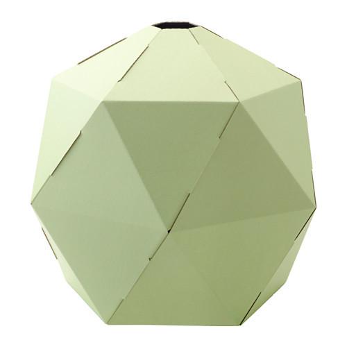 JOXTORP Pendant lamp shade, light green - 802.792.63