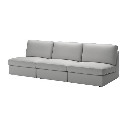 KIVIK Sofa combination, Orrsta light gray - 190.284.62
