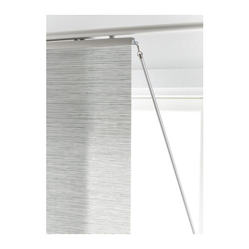 KVARTAL Draw rod, aluminum color - 100.793.66