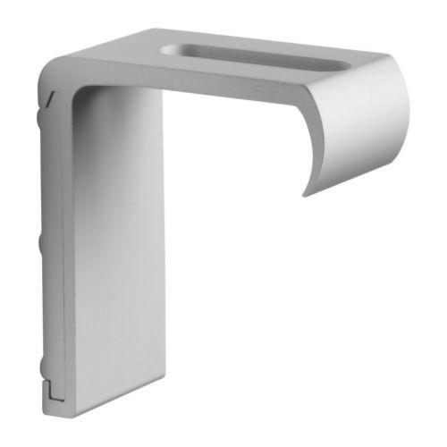 KVARTAL Wall bracket, aluminum color - 601.646.87