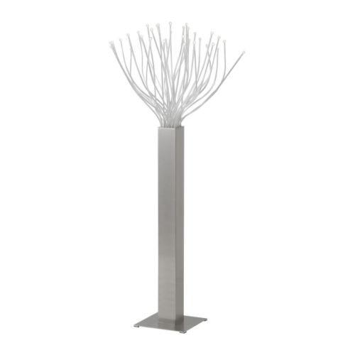 STRANNE LED floor lamp, steel - 501.736.68