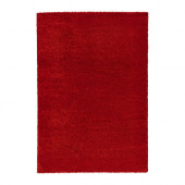 ÅDUM Rug, high pile, bright red - 702.592.65