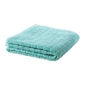 ÅFJÄRDEN Bath towel, green-blue - 401.906.11