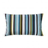 ÅKERMADD Cushion cover, green/blue - 102.590.70