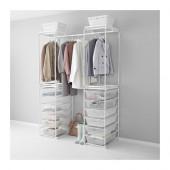 ALGOT Frame/mesh baskets/rod for frames, white - 190.688.63