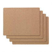 AVSKILD Place mat, cork - 402.816.54