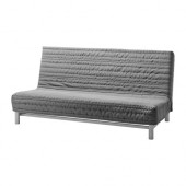 BEDDINGE LÖVÅS Sofa bed, Knisa light gray - 290.894.26