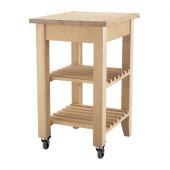 BEKVÄM Kitchen cart, birch - 302.403.48