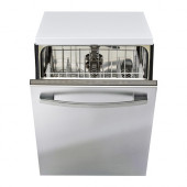 BETRODD Integrated dishwasher, Stainless steel - 602.922.65