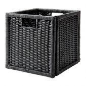 BRANÄS Basket, dark gray - 002.824.05