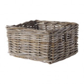 BYHOLMA Basket, gray - 001.590.14