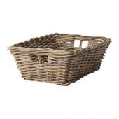 BYHOLMA Basket, gray - 901.927.35