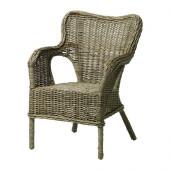 BYHOLMA Chair, gray - 601.583.04