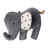 CHARMTROLL Squeaky toy, elephant, beige gray - 602.946.60