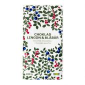 CHOKLAD LINGON & BLÅBÄR Chocolate w lingon/blueberry flavor - 602.184.21