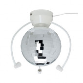DANSA Disco ball with LED light - 402.409.27
