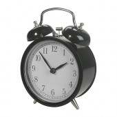DEKAD Alarm clock, black - 501.875.66