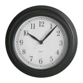 DEKAD Wall clock, black - 900.989.74