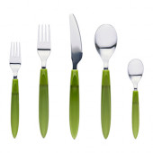 DITO 20-piece flatware set, green - 702.875.84