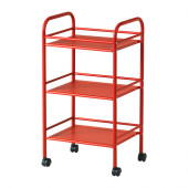 DRAGGAN Cart, red - 302.630.52