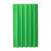 EGGEGRUND Shower curtain, green - 502.952.88