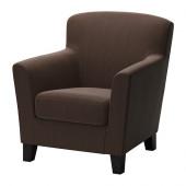EKENÄS Chair, Hensta dark brown - 802.766.55
