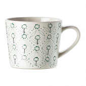 ENIGT Mug, off-white, green - 002.347.68