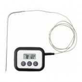 FANTAST Meat thermometer/timer, digital black - 801.004.06
