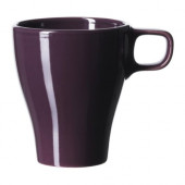 FÄRGRIK Mug, stoneware dark lilac - 401.317.68