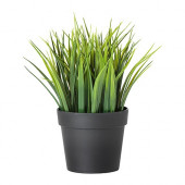 FEJKA Artificial potted plant, grass - 902.076.85
