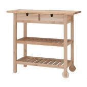 FÖRHÖJA Kitchen cart, birch - 800.359.20