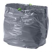 FÖRSLUTAS Trash bags, gray - 402.575.45