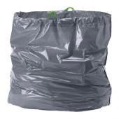 FÖRSLUTAS Trash bags, gray - 702.876.83