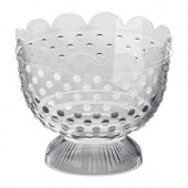 FÖRTJUST Tealight holder, clear glass - 602.142.82