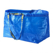 FRAKTA Shopping bag, large, blue - 172.283.40