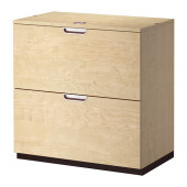 GALANT Drawer unit/drop file storage, birch veneer - 402.552.59