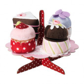 GRATTIS 5-p serving stand with cupcakes set - 902.620.02