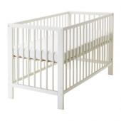 GULLIVER Crib, white - 802.485.25