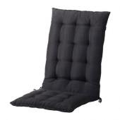 HÅLLÖ Seat/back pad, outdoor, black - 302.644.62