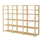 HEJNE 3 sections/shelves, softwood - 990.314.08