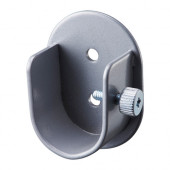 HUGAD Wall fitting for curtain rod, silver color - 302.691.34