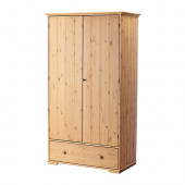 HURDAL Wardrobe, light brown - 502.688.50