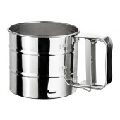 IDEALISK Flour sifter, stainless steel - 400.143.40