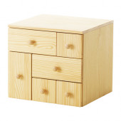 IKEA PS 2012 Add-on chest with 6 drawers, pine - 702.194.58