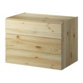 IVAR 3-drawer chest, pine - 901.452.68