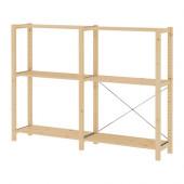 IVAR 2 sections/shelves, pine - 699.302.03