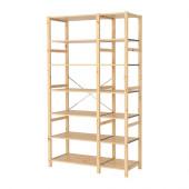 IVAR 2 sections/shelves, pine - 290.024.47